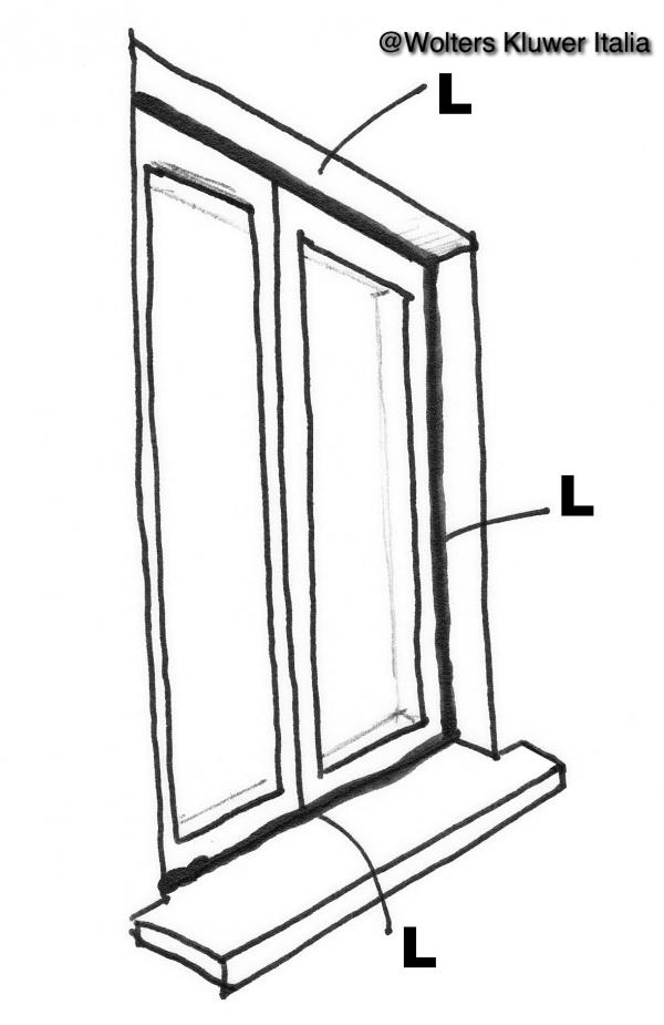 Ponti termici nei serramenti e negli infissi norme di riferimento - Ponte termico finestra ...