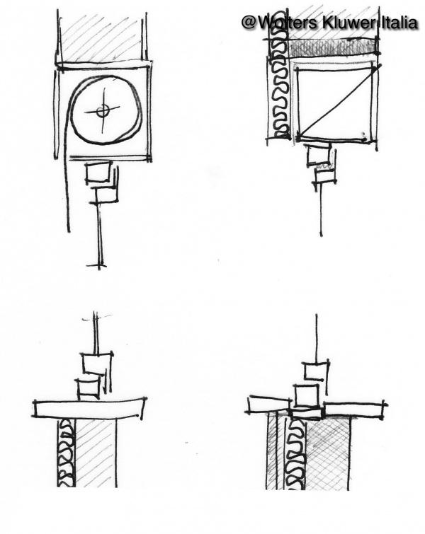 Ponti termici negli infissi cassonetti e davanzali for Raccordo casa verticale