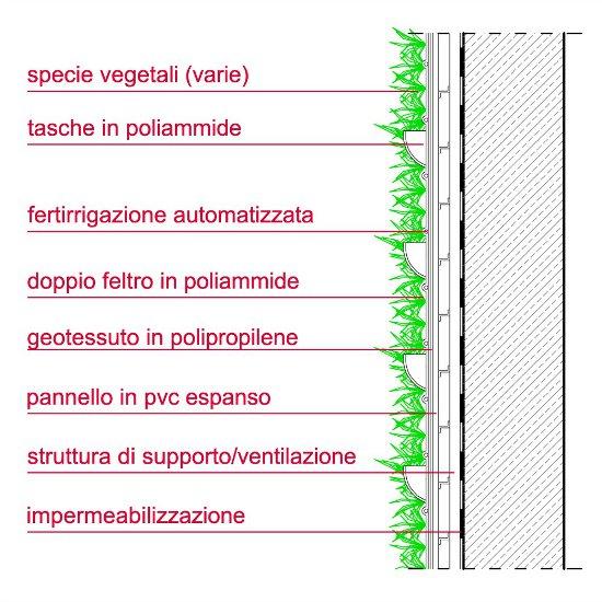 Verde verticale: rivestimenti vegetali e chiusure vegetate  Edilone.it