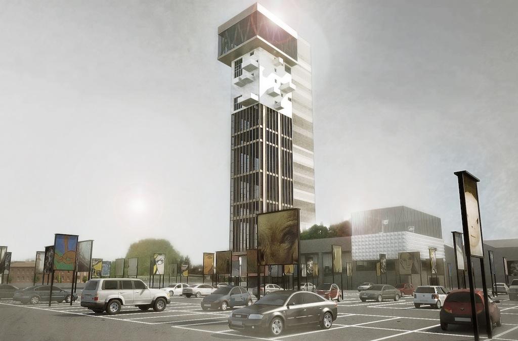 Hybrid tower mestre gli ultimi piani montati come i lego for Come leggere i piani del cantiere