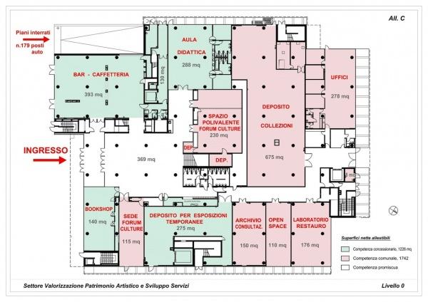 Com 39 e 39 il mudec il museo delle culture firmato david for Esempio di pianta del piano casa