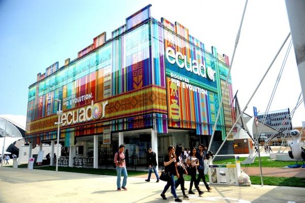 Expo Milano Stand Ecuador : Expo presentato il padiglione ecuador ingegneri