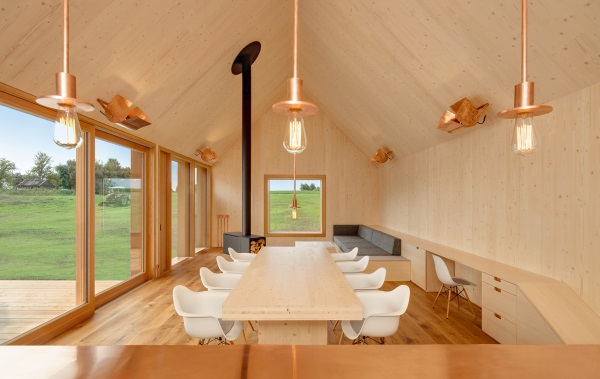 Legno in edilizia: la wohnhaus aus holz di kuhnlein arkitektur
