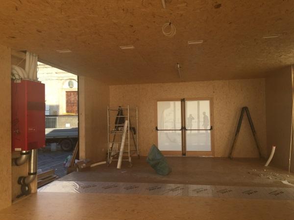 Edilizia prefabbricata in legno per la sindone a torino - Isolare parete interna a nord ...