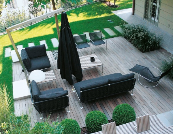Quali materiali per arredare giardini e terrazze for Arredamenti terrazze e giardini