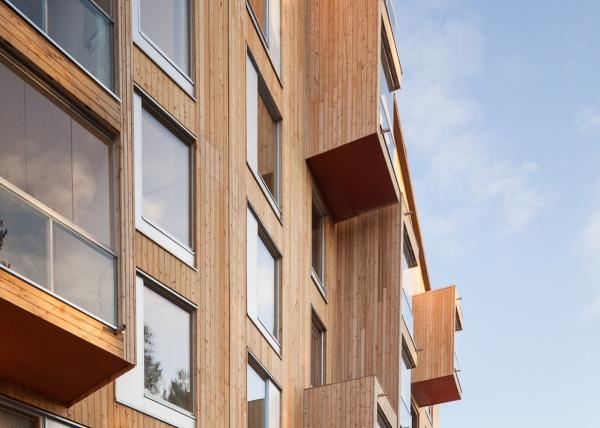 L Edificio Residenziale In Legno Multipiano Piu Alto