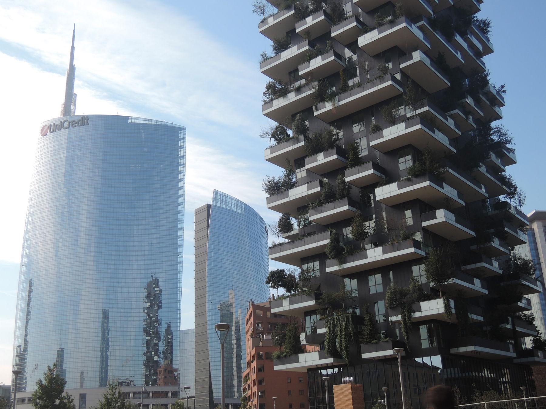 Bosco verticale inaugurato a milano la fotogallery for Bosco verticale architetto