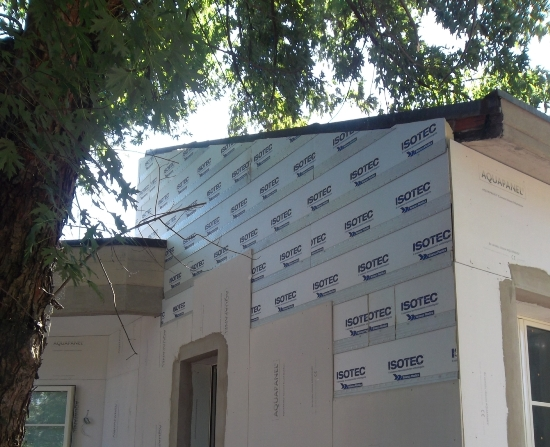 I pannelli isotec linea per l isolamento termico di un asilo nido