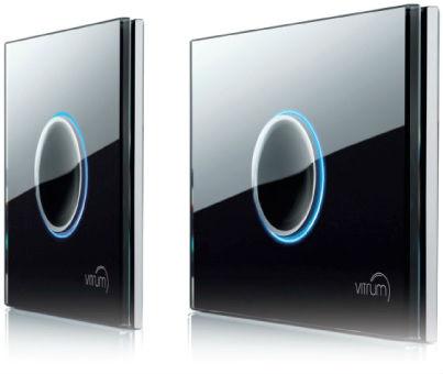 Interruttori wireless domotica e design vetro e for Interruttori touch